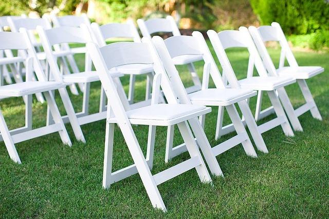 sillas plegables para bodas y comuniones